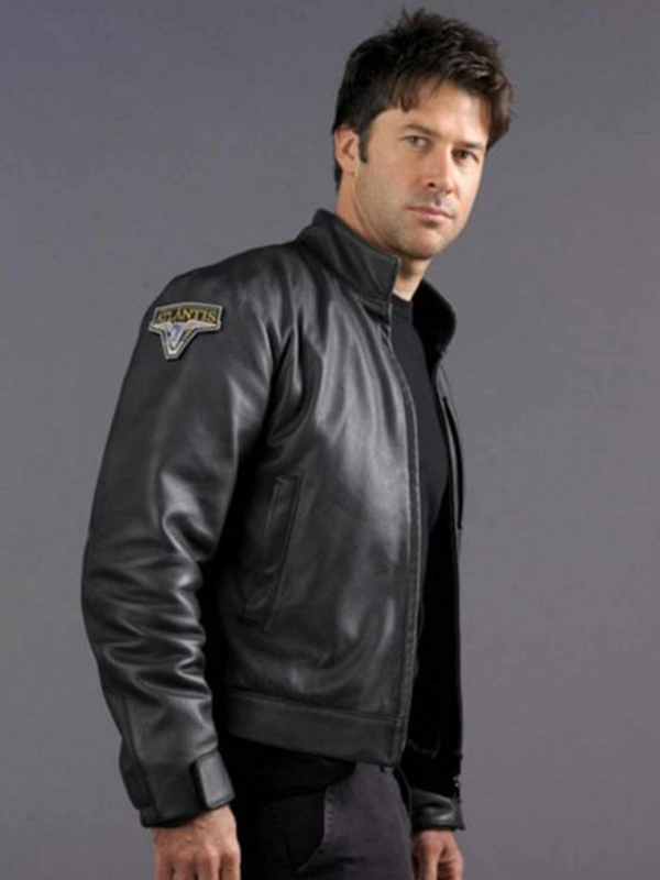 Joe Flanigan Black Jacket