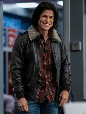 Dani Rojas Ted Lasso S02 Shearling Jacket