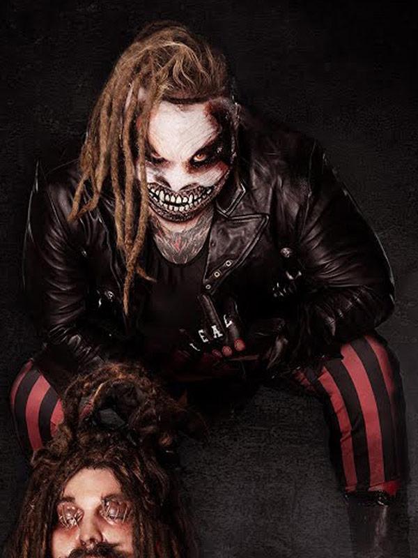 Bray Wyatt The Fiend Black Biker Jacket