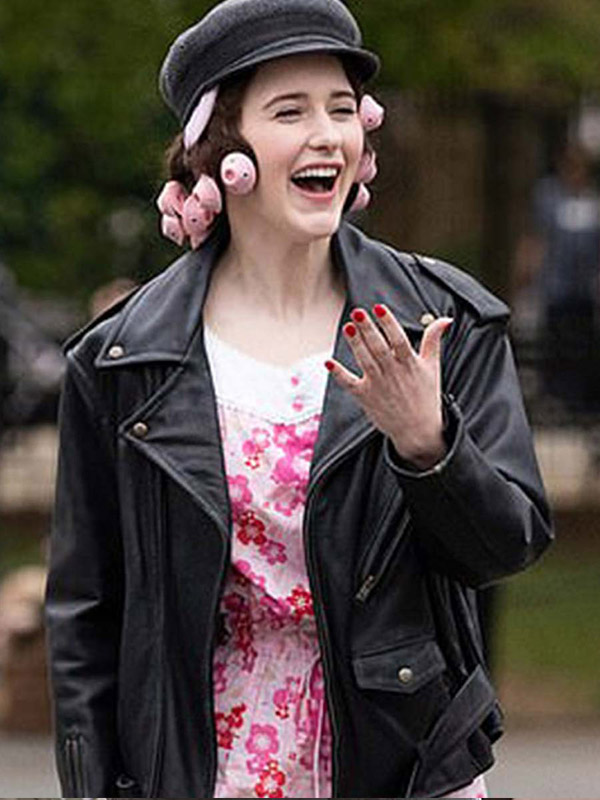 Rachel Brosnahan The Marvelous Mrs. Maisel Black Jacket