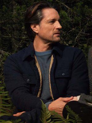 Virgin River S03 Martin Henderson Black Jacket