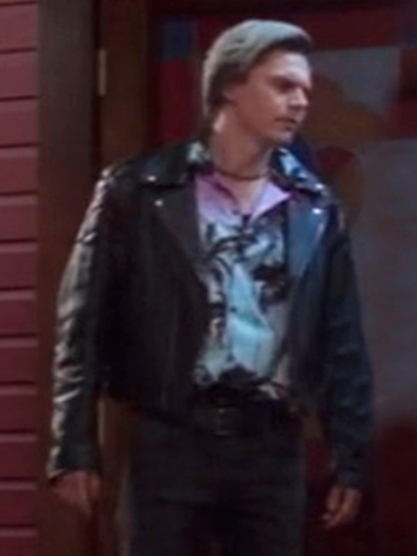 WandaVision Evan Peters Biker Jacket