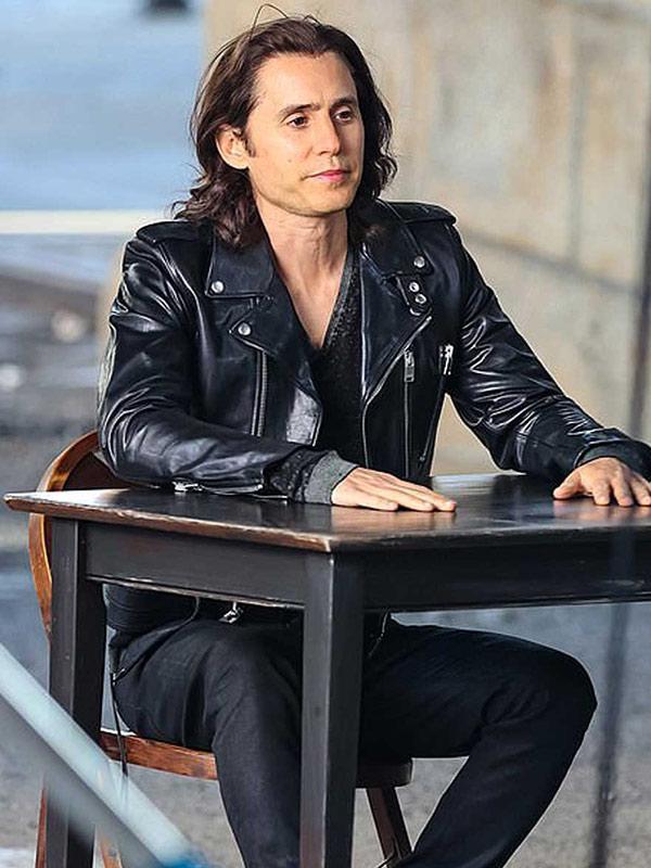 Jared Leto Biker Jacket