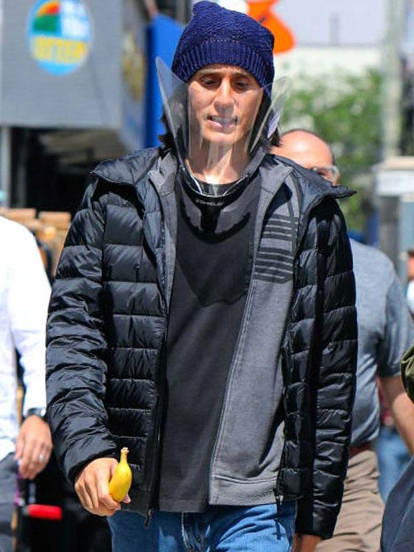 Jared Leto WeCrashed Black Puffer Jacket