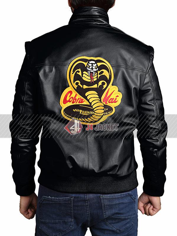 Tv Series Cobra Kai Johnny Lawrence Black Jacket