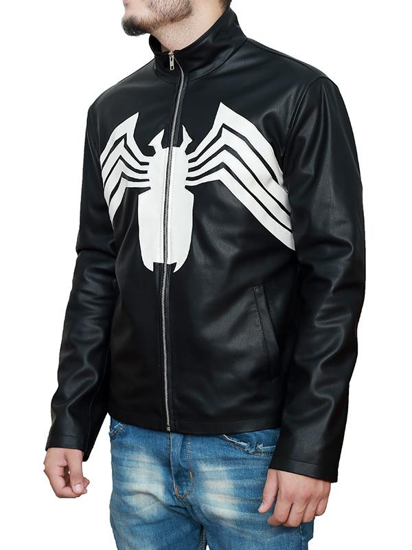 Venom 2021 Tom Hardy Spider Leather Jacket
