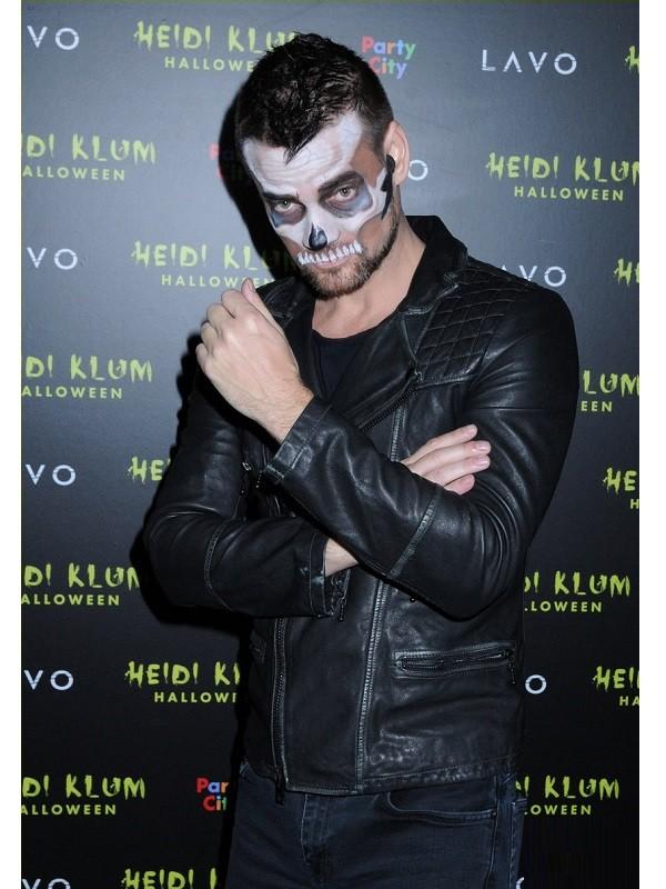 Adam Lambert American Singer Halloween Party Leather Jacket