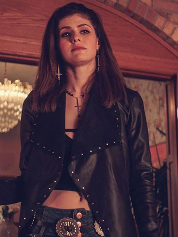 We Summon the Darkness TV Series Alexis Black Leather Jacket