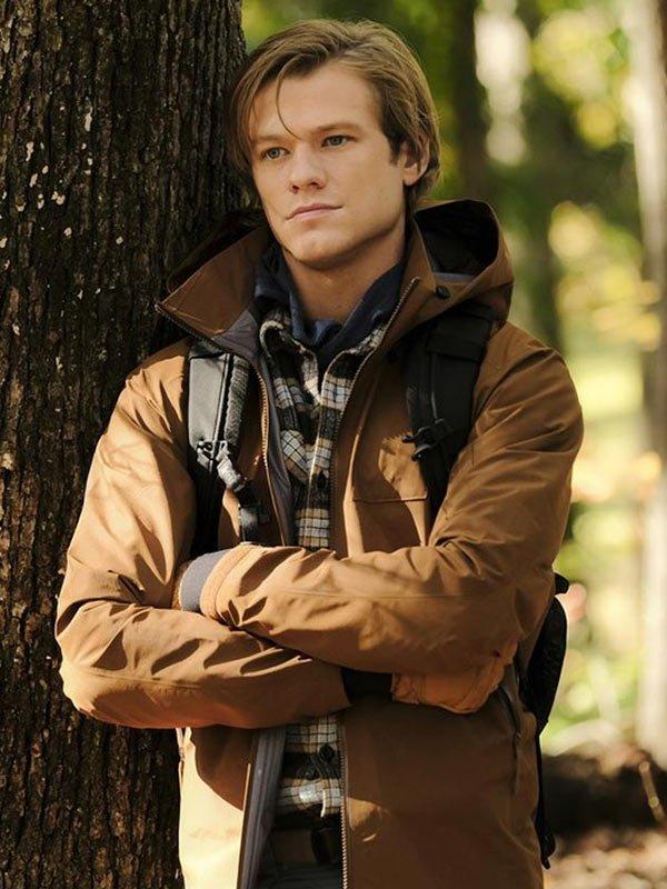 Lucas Till TV Series Macgyver Angus Macgyver Brown Cotton Jacket