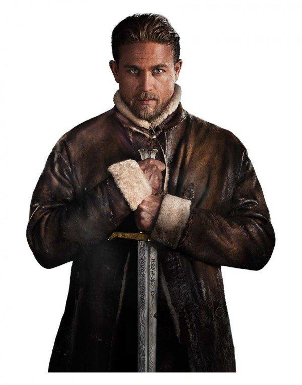 Charlie Hunnam King Arthur Legend of the Sword Leather Coat