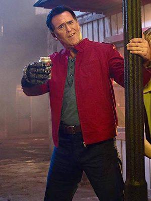 Bruce Campbell Ash vs Evil Dead Red Cotton Jacket