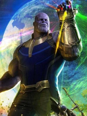 Avengers Infinity War 2018 Thanos Costume Vest