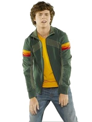 The Middle Charlie McDermott Green Cotton Jacket