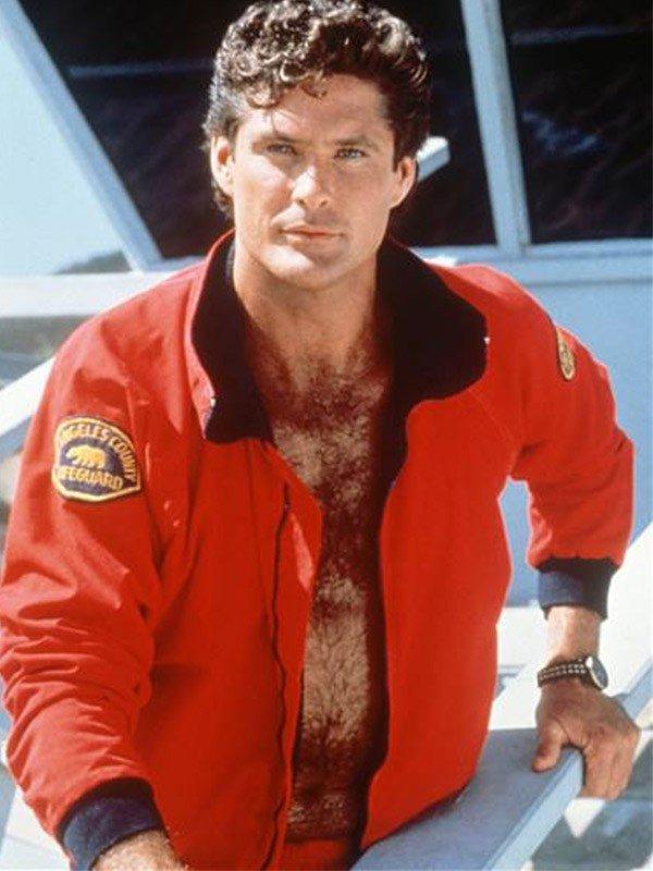 The Mentor Baywatch David Hasselhoff Lifeguard Jacket