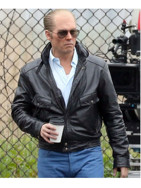 Johnny Depp Leather Jacket
