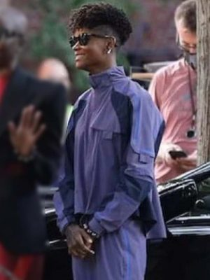 Black Panther: Wakanda Forever Shuri Purple Cotton Jacket