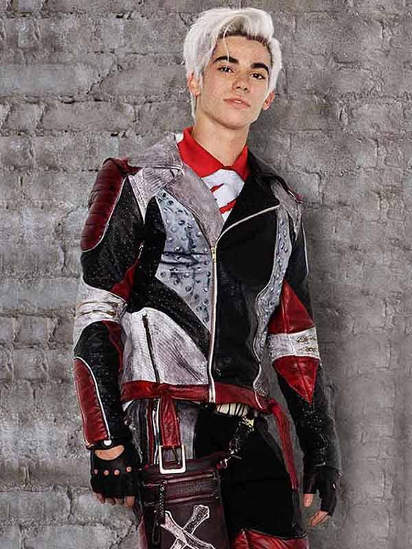 Carlos Descendants 2 Cameron Boyce Leather Costume Jacket