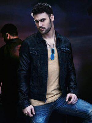 Carlos Gutierrez Heroes Reborn Black Leather Jacket