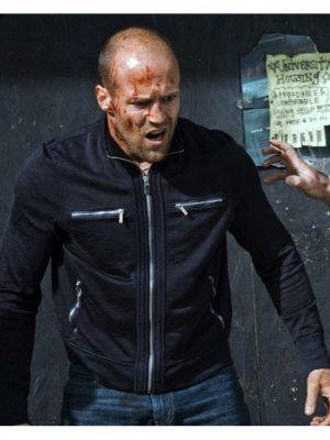 Jason Statham Crank 2 High Voltage Chev Chelios Black Jacket