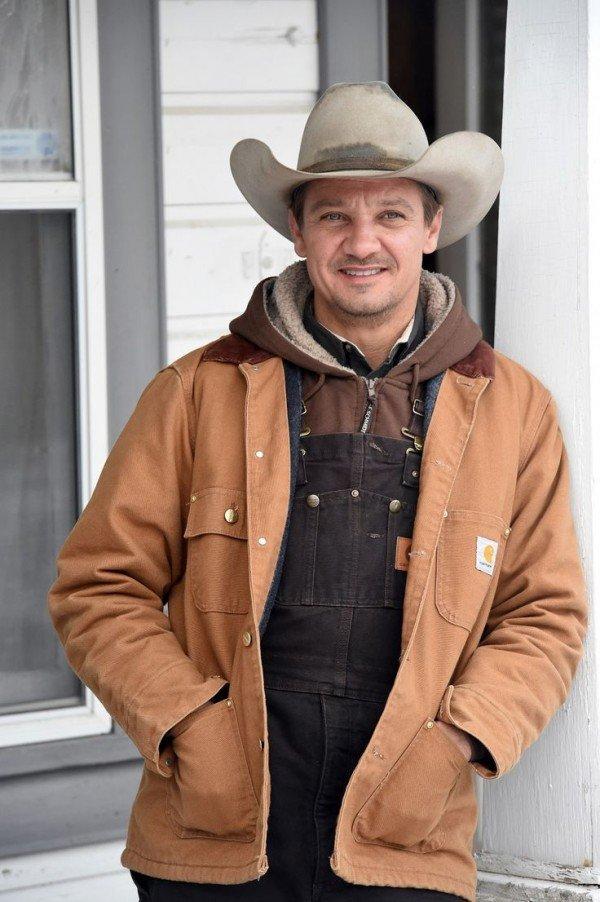 Jeremy Renner Wind River Cory Lambert Brown Cotton Jacket