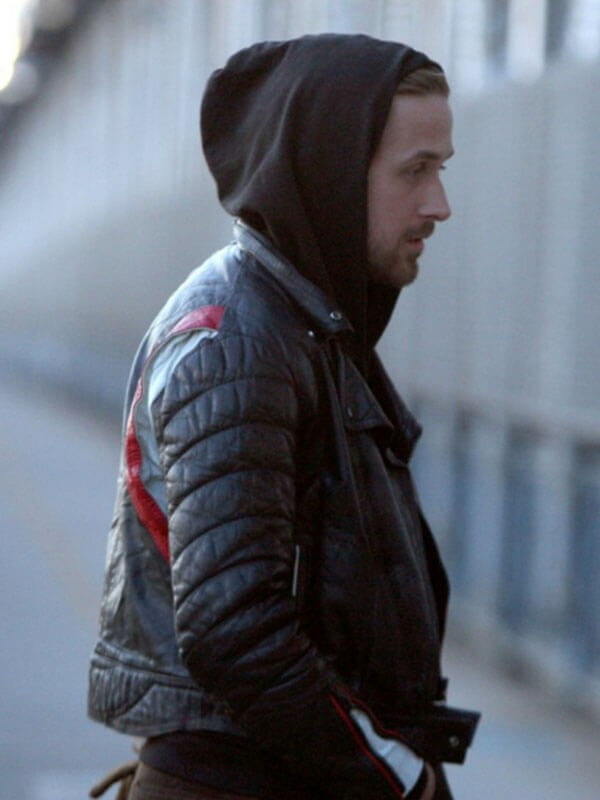 Ryan Gosling Blue Valentine Black Leather Jacket