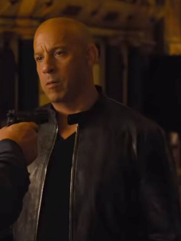 Vin Diesel Fast And Furious 9 Dominic Toretto Leather Jacket