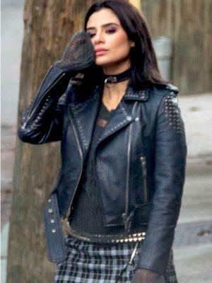 Crazy Jane Doom Patrol Diane Guerrero Leather Jacket