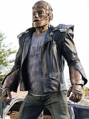 Doom Patrol S01 Brendan Fraser Leather Jacket