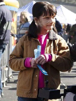 Doom Patrol S02 Abigail Shapiro Brown Cotton Jacket