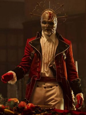 Roger Floyd Doom Patrol S02 Red Jack Coat