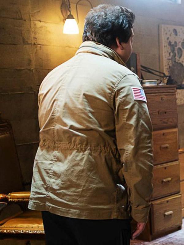 Doom Patrol Season 02 Ernest Franklin Cotton Jacket