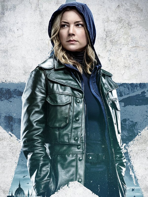Sharon Carter The Falcon and the Winter Soldier Leather Trench Coat