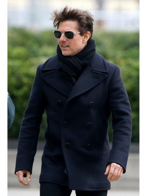 Tom Cruise Mission Impossible 6 Ethan Hunt Wool Coat