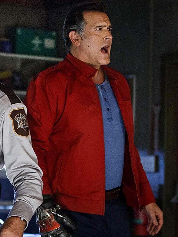 Ash Williams Ash vs Evil Dead Bruce Campbell Jacket