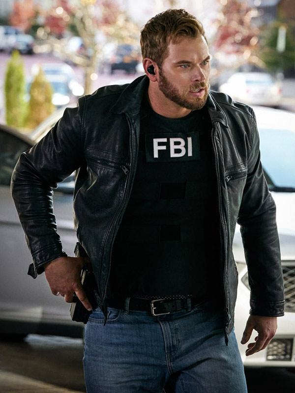 FBI Most Wanted Kellan Lutz Leather Jacket