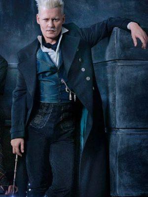 Johnny Depp Fantastic Beasts The Crimes Of Grindelwald 2018 Coat