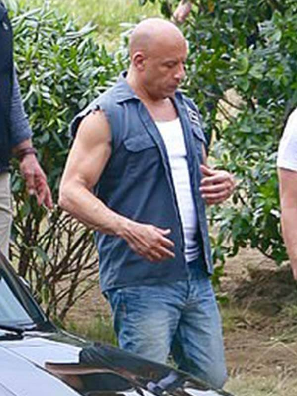 Dominic Toretto Fast and Furious 9 2021 Vin Diesel Vest