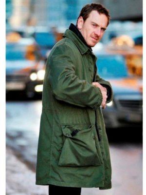 Michael Fassbender The Snowman 2017 Harry Hole Coat