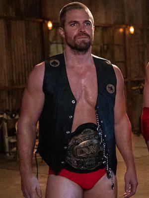 Heels Jack Spade Black Leather Vest