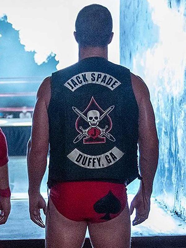 Heels 2021 Jack Spade Black Leather Vest