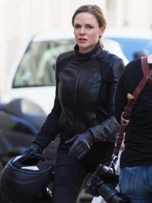 Mission Impossible 6 Rebecca Ferguson Slim-Fit Leather Jacket
