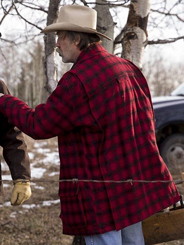 Shaun Johnston TV Series Heartland Jack Bartlett Plaid Flannel Jacket