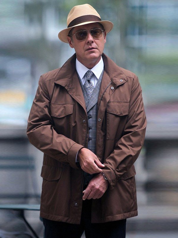 Raymond Reddington The Blacklist James Spader Brown Jacket