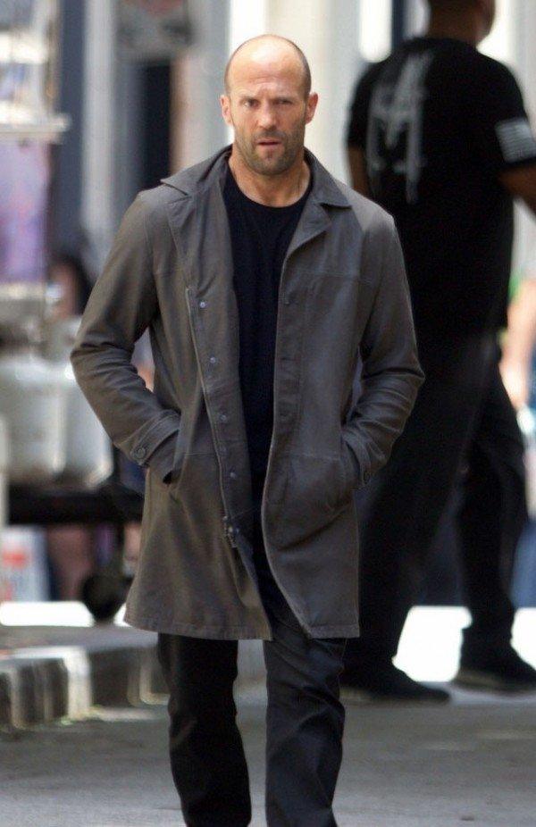 Deckard Shaw The Fate of the Furious Jason Statham Trench Coat