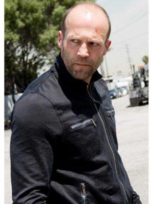 Chev Chelios Crank 2 High Voltage Jason Statham Black Jacket