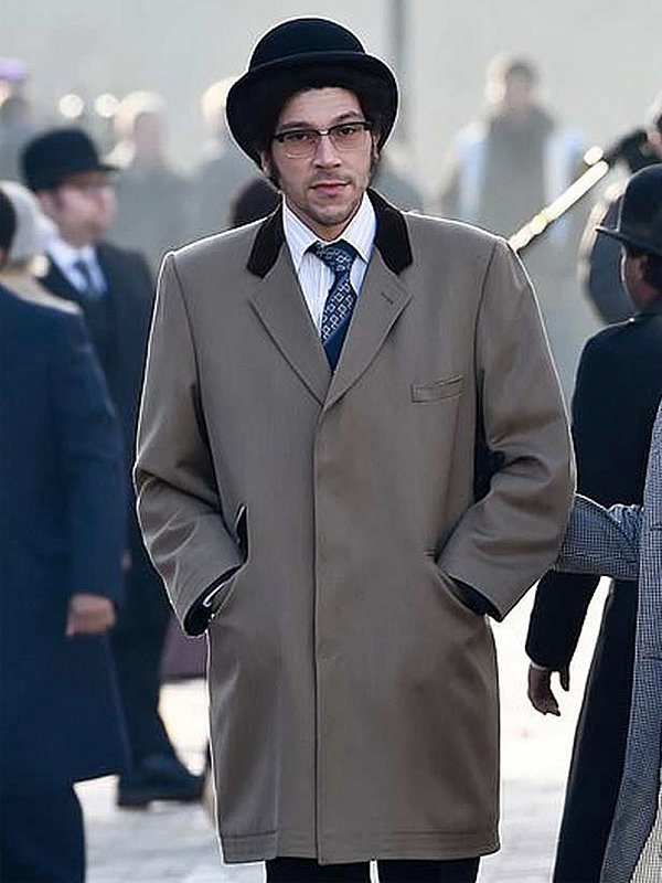 Joel Fry Cruella 2021 Jasper Vintage Gray Coat