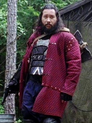 TV Series The Walking Dead Cooper Andrews Cotton Quilted Jacket