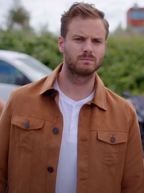 Chris Just Say Yes 2021 Jim Bakkum Brown Cotton Jacket