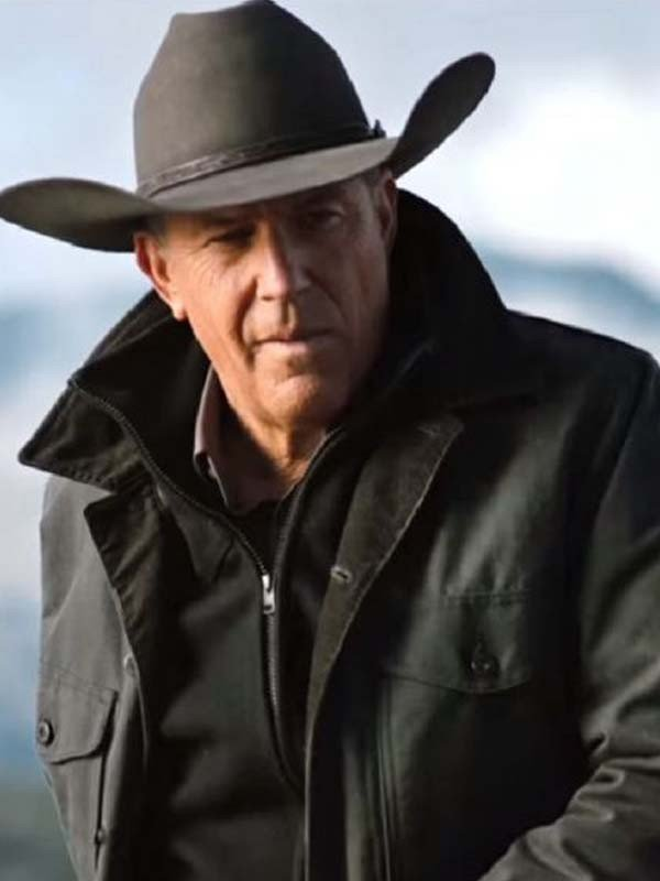 John Dutton Yellowstone Kevin Costner Jacket