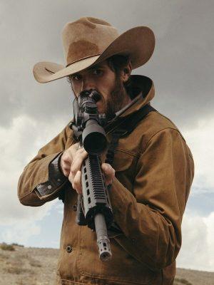 Dave Annable Yellowstone Lee Dutton Brown Cotton Jacket